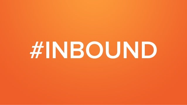 Taking Your Sales Process Inbound Slide 2