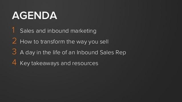 Taking Your Sales Process Inbound Slide 3