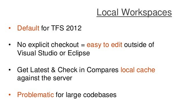 Taking your version control to a next level with TFS and Git