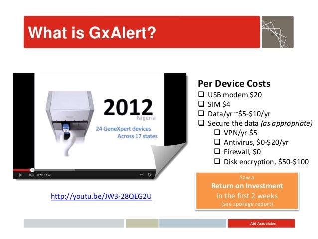 Faster Response to MDR-TB through GxAlert Slide 3