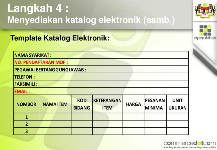 Taklimat Pembekal Commercedotcom 20111