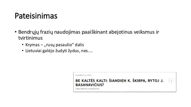 """Pateisinimas • Bendrųjų frazių naudojimas paaiškinant abejotinus veiksmus ir tvirtinimus • Krymas – """"rusų pasaulio"""" dalis ..."""