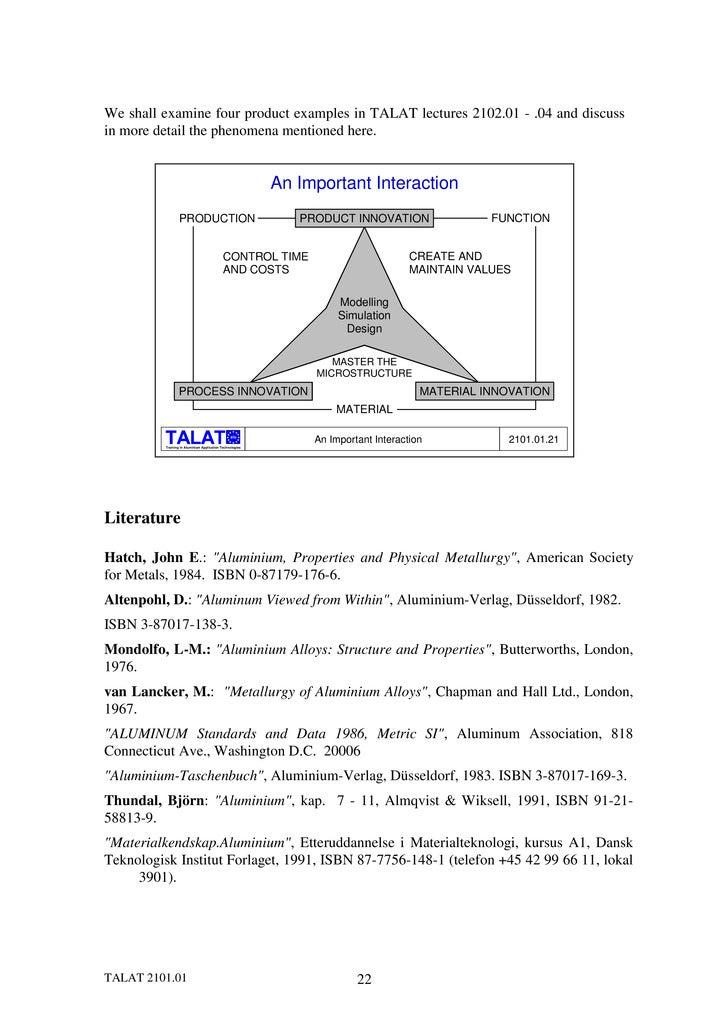 Aluminum Properties And Physical Metallurgy John E Hatch