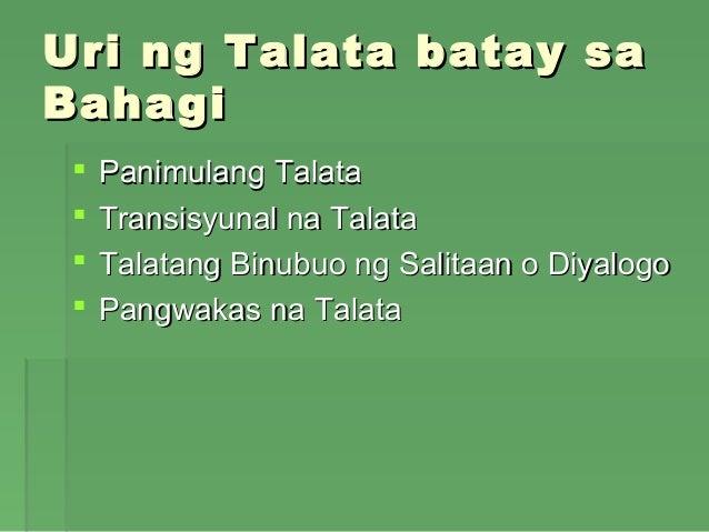 halimbawa ng talata na nagsasalaysay Essays - largest database of quality sample essays and research papers on halimbawa ng talata studymode - premium and free  nilalaman ng batas na ito,.