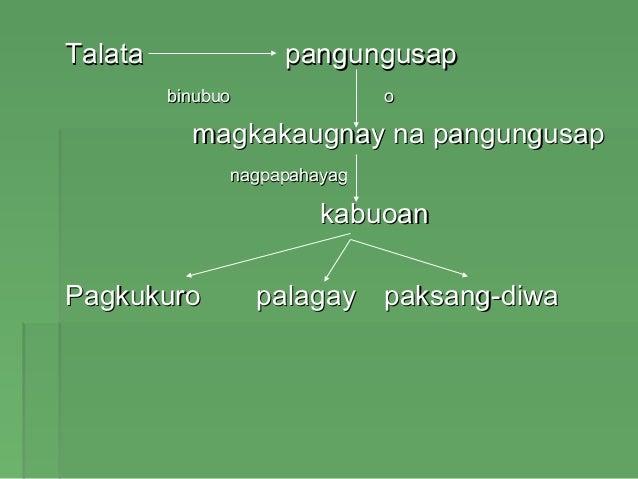 uri ng talata Marami raw uri ng pagkabansot, ngunit ang pinakamalungkot na uri raw ay ang pagkabansot ng isipan, ng puso, at ng diwa pahiram po ng ikalawang talata.