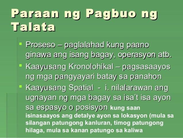 mga halimbawa ng paglalahad Contextual translation of halimbawa ng kwentong paglalahad into english  human translations with examples: examples of riddles.