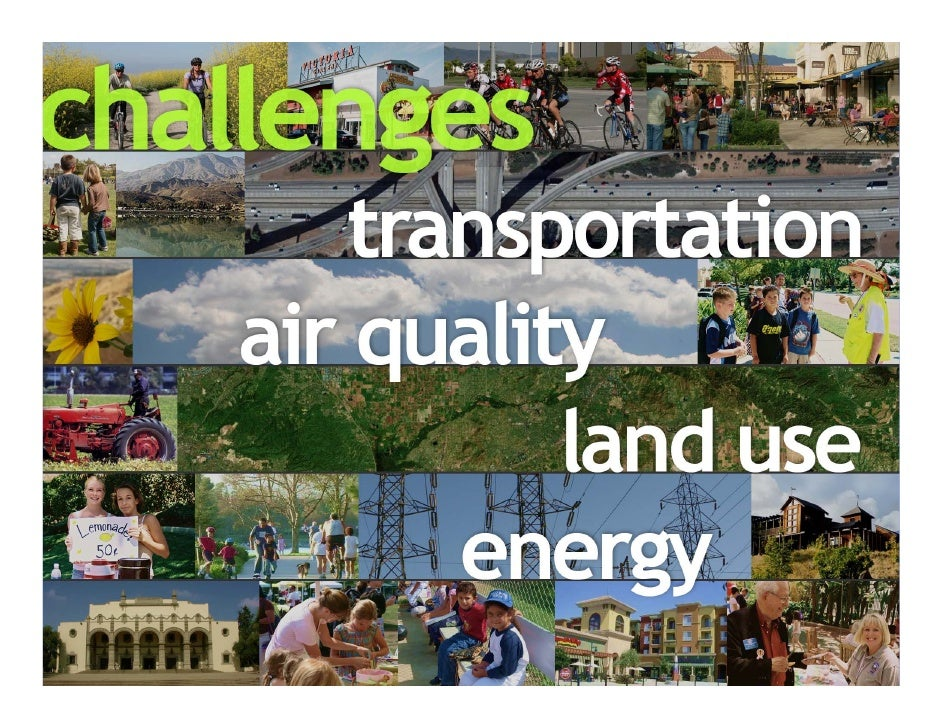 INTERRELATED CHALLENGES:                       - Growth and Congestion                       - Freight Movement           ...