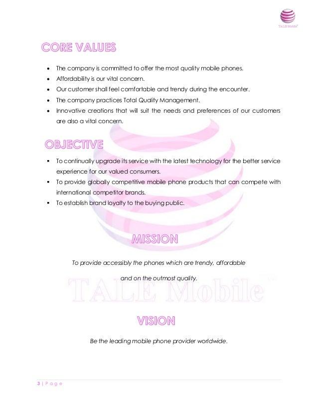 Marketing Plan (TALE Mobile) Slide 3
