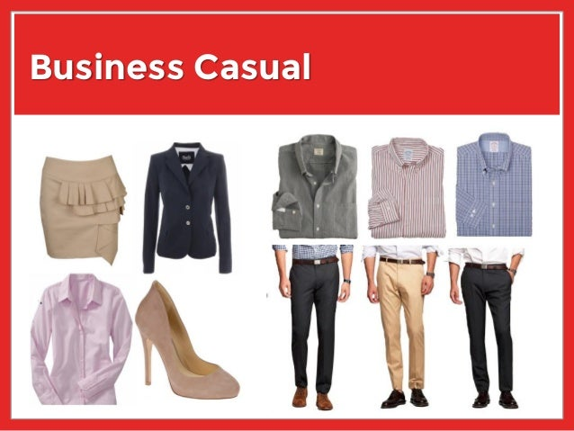 Snappy business casual