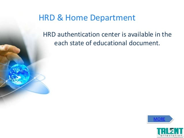 Talent attestation is the premier certificate - Us department of state office of authentication ...