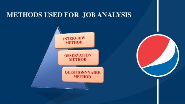 example of job analysis in hrm