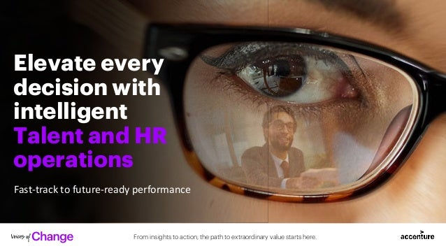 From insights to action, the path to extraordinary value starts here. Elevate every decision with intelligent Talent and H...