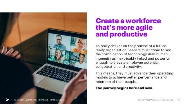Intelligent Talent & HR Operations | SlideShare | Accenture Slide 3