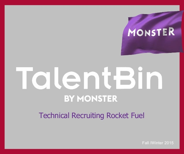 Technical Recruiting Rocket Fuel Fall /Winter 2015