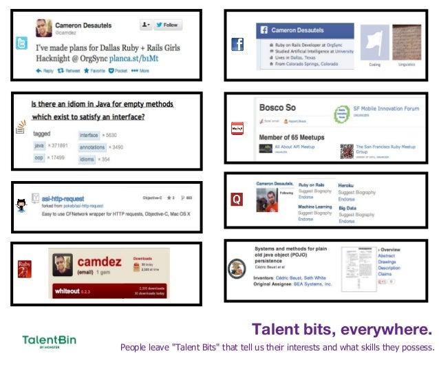 Talent Bin Slide 3