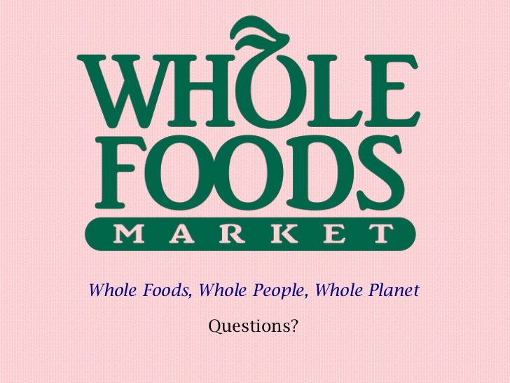Whole Foods Stock Performance
