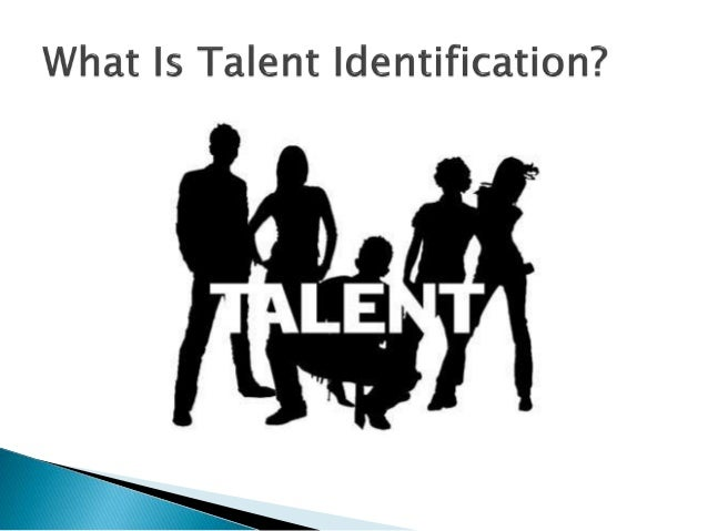 talent identification View talent identification in sport research papers on academiaedu for free.