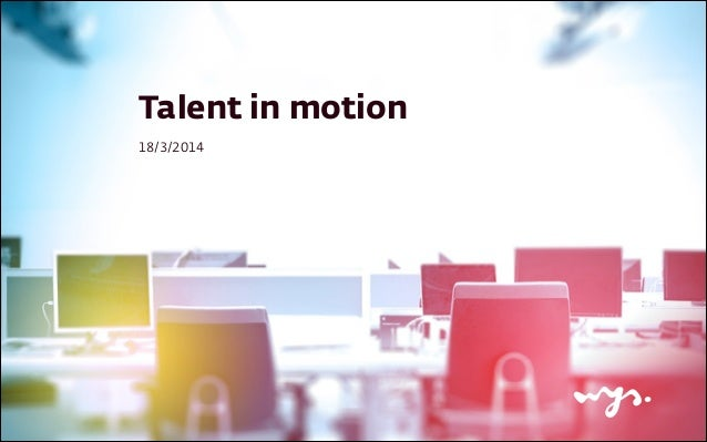 Talent in motion 18/3/2014