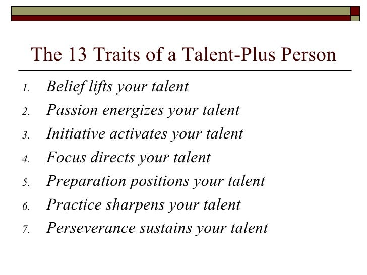 talent is never enough by john maxwell free download