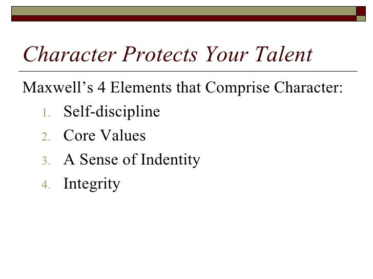 Is by pdf maxwell john never talent enough