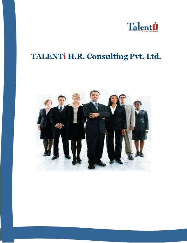 TALENTi H.R. Consulting Pvt. Ltd.