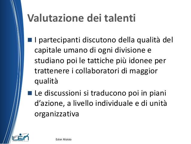 Talent management sviluppare talenti per pianificare il for Gettare i piani del workshop