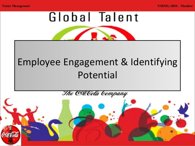 talent management coca cola