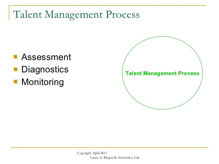 Creating Sustainable Advantage: A Framework for Talent Management