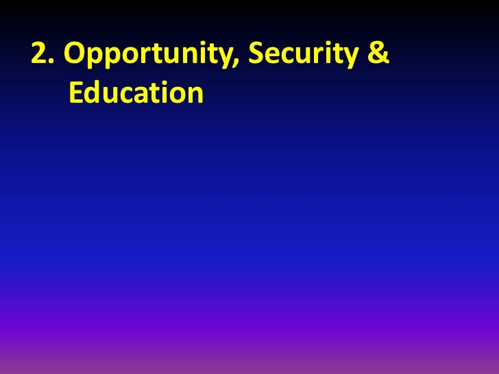 2.1 Opportunity and Globalisation • Work-life balance (Lam Kin Ben) • Work opportunities (smart engineers) • Less hierarch...