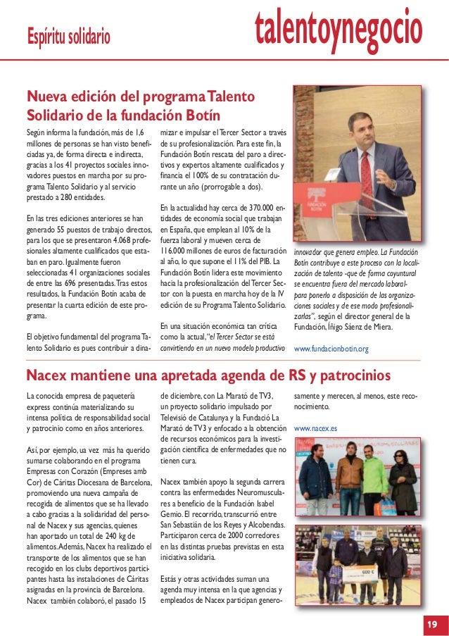 Talentoynegocio n 4 talento management recursos humanos for Oficina nacex barcelona