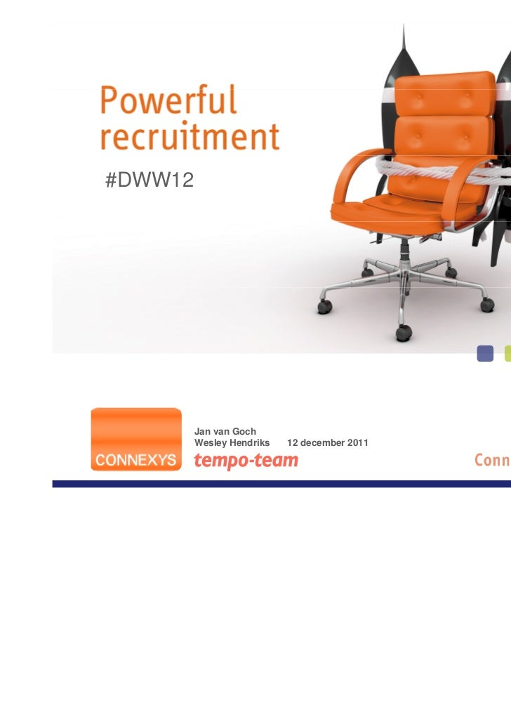 #DWW12         Jan van Goch         Wesley Hendriks   12 december 2011