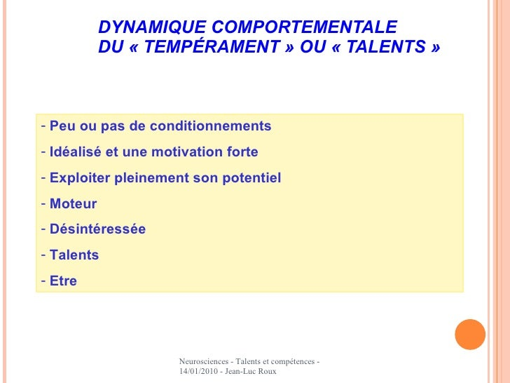 talents et comp u00e9tences