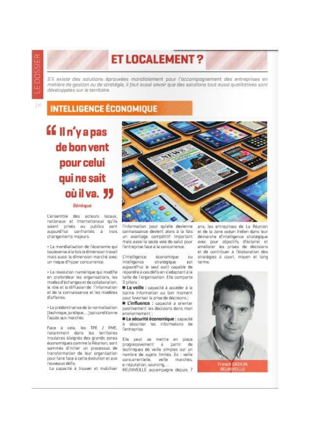 Magazine Talents et Territoires - num 6 - CGPME Réunion