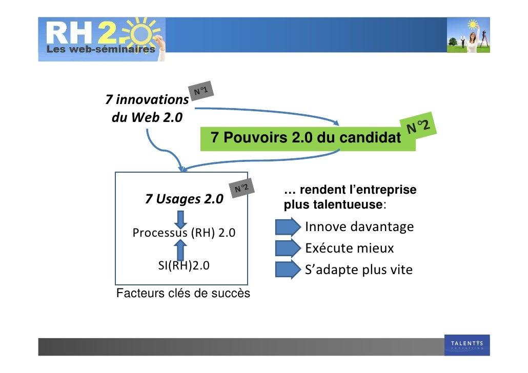 Talentys Webinar Rh2.0 19 Mai 7 Pouvoirs 2.0 Du Candidat Slide 2