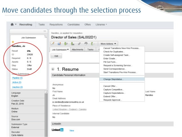 taleo for peoplesoft users