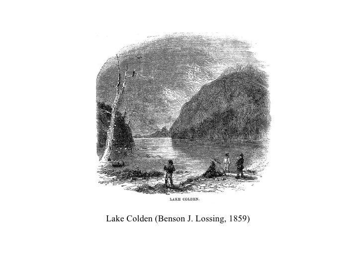 Lake Colden (Benson J. Lossing, 1859)