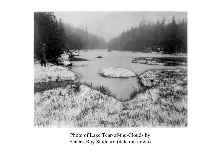 Photo of Lake Tear-of-the-Clouds by Seneca Ray Stoddard (date unknown)