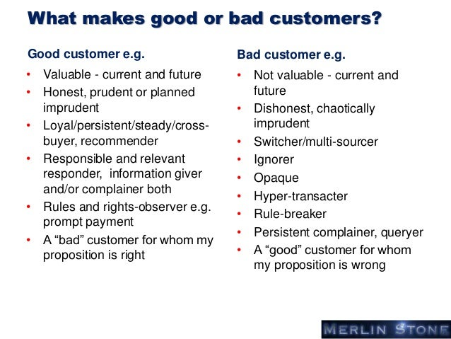 Essays on good customer service