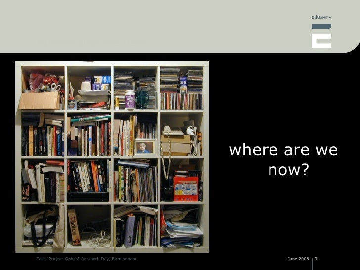 Web 2.0 and repositories - have we got our repository architecture right? Slide 3