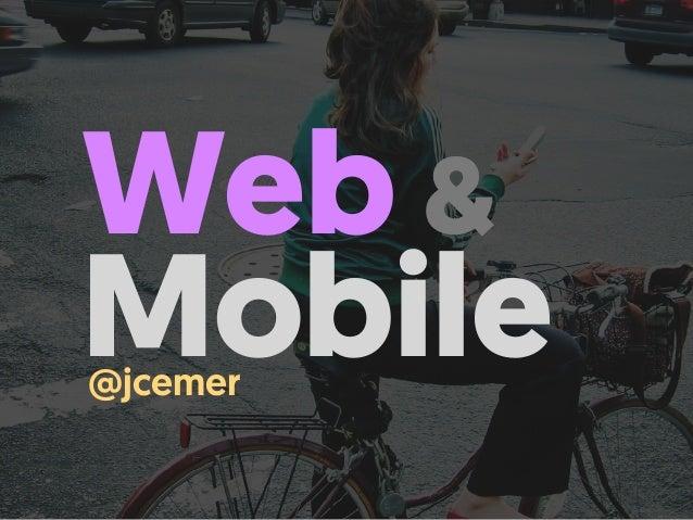 Web & Mobile@jcemer