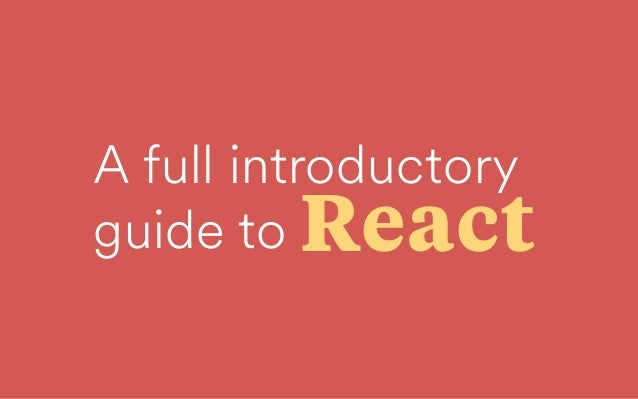A full introductory
