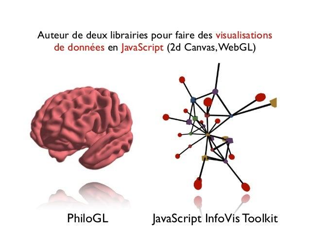 La visualisation de données comme outil pour découvrir et partager des idées sur le Web Slide 3