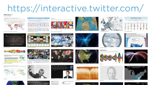From Data Journalism to Data Illustration - Visualizing Data with JavaScript at Twitter Slide 2