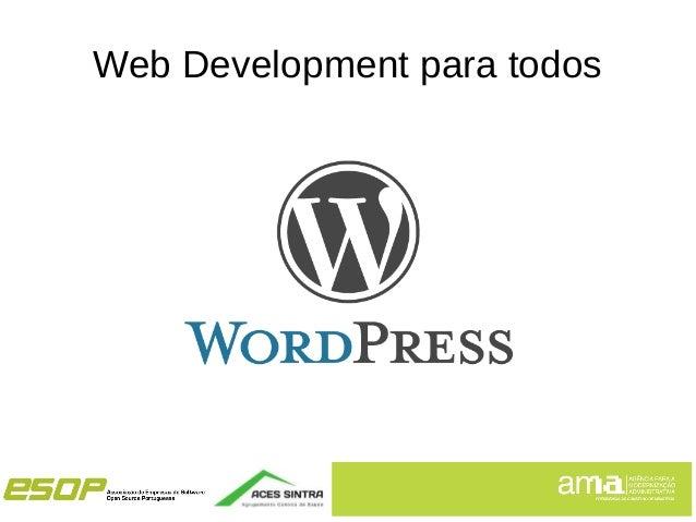 Web Development para todos