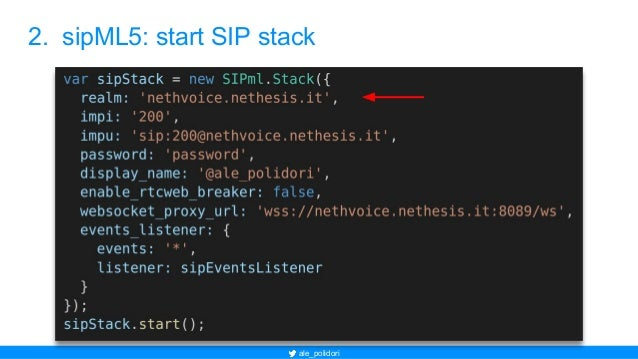 Asterisk WebRTC frontier: realize client SIP Phone with sipML5 and Ja…