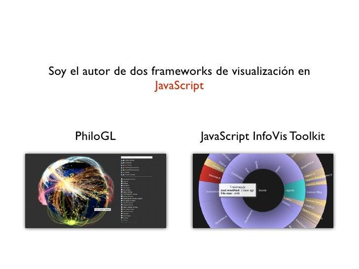 InfoVis para la Web: Teoria, Herramientas y Ejemplos. Slide 3