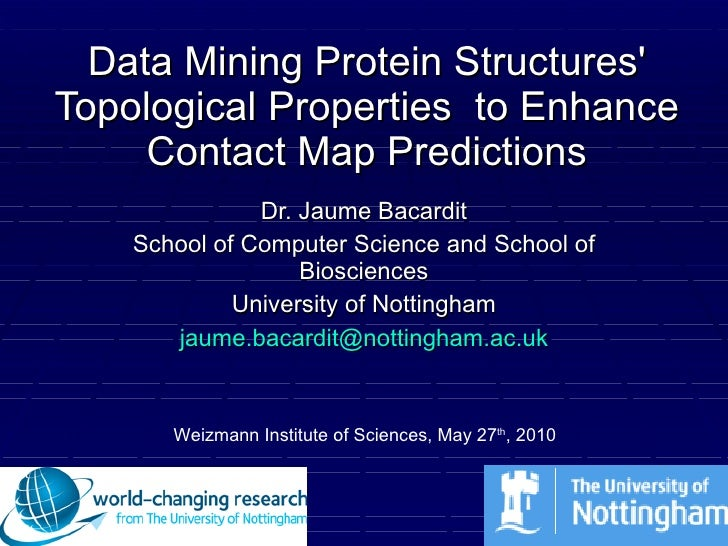 Data Mining Protein Structures' Topological Properties  to Enhance Contact Map Predictions