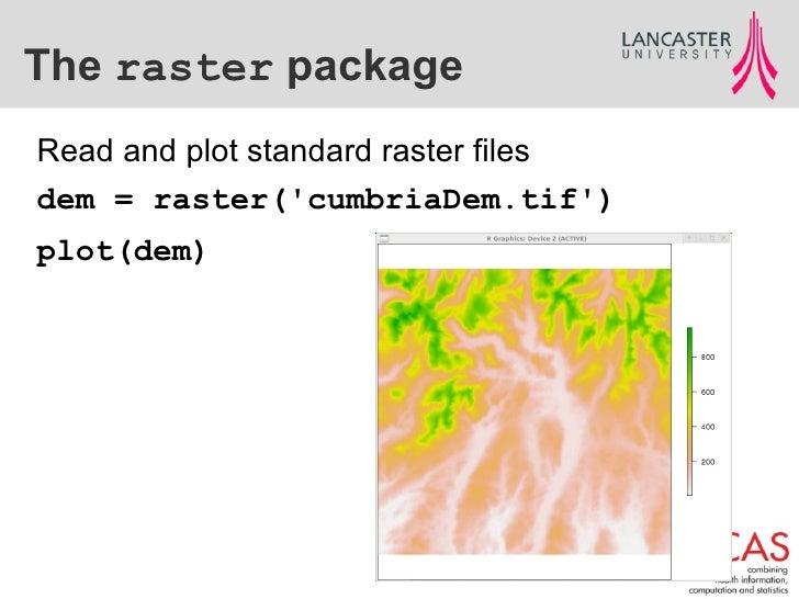 Geospatial Data in R