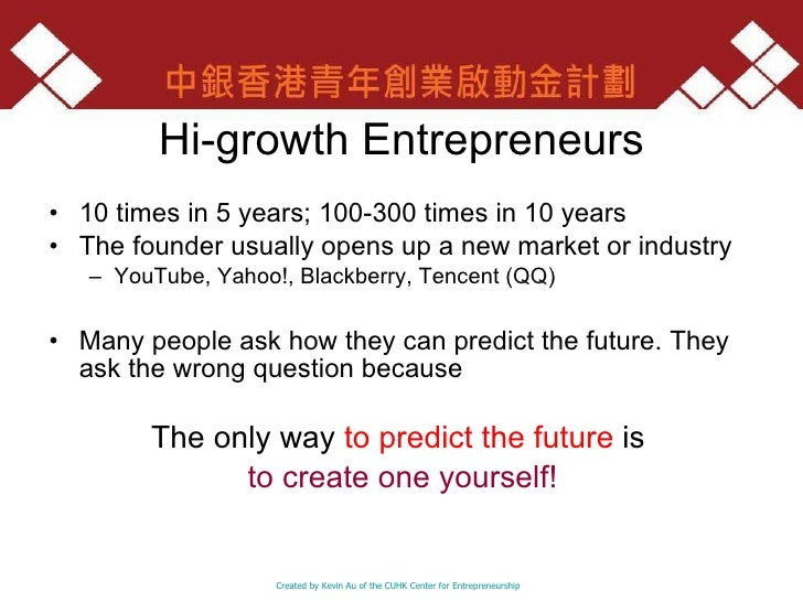 Business plans for young entrepreneurs