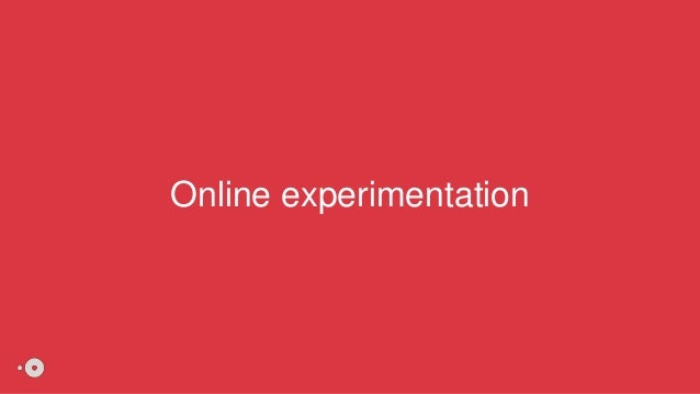 Online experimentation